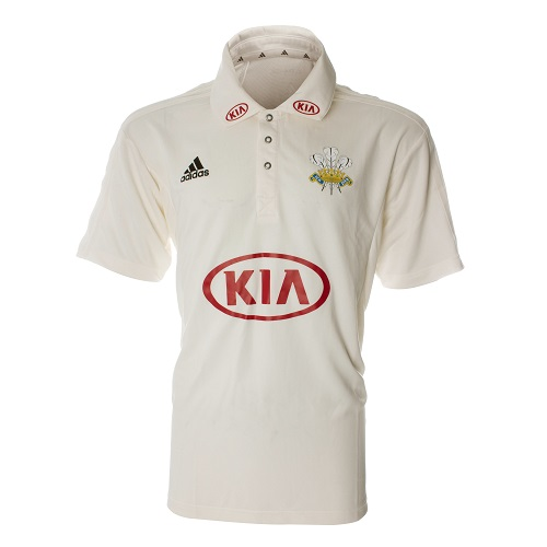Surrey Adidas Replica County S/S Shirt, Youth