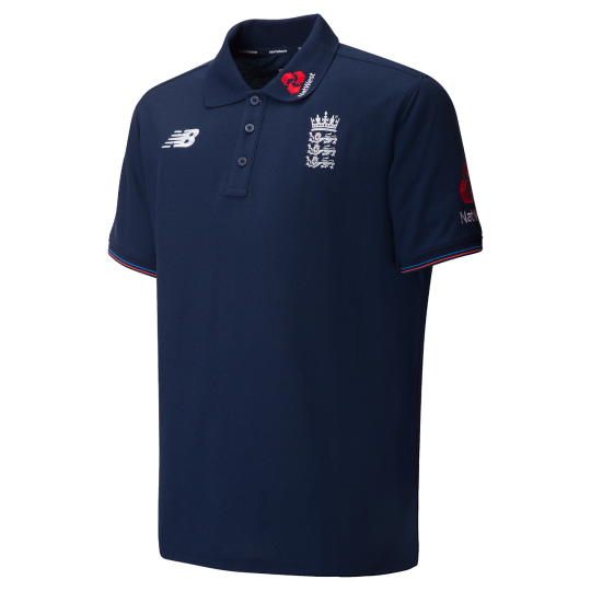 New Balance England Media Training Polo 2018