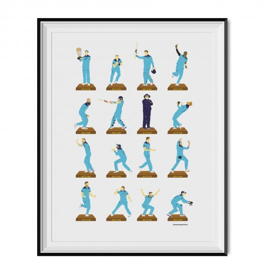 England World Cup Winning Poster