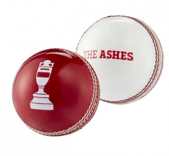 Ashes Souvenir Ball White/Red