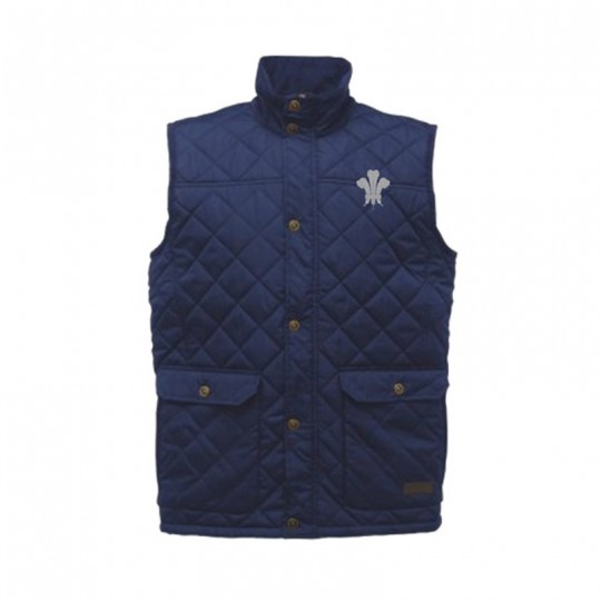 Surrey CCC 1845 Quilted Diamond Gilet - Mens