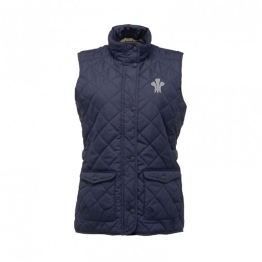Surrey CCC 1845 Quilted Diamond Gilet - Ladies