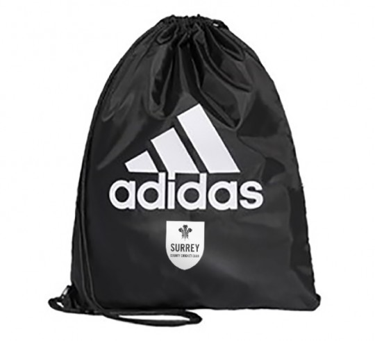 Surrey Adidas Replica Drawstring Bag