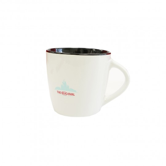 The White Oval Coffee Mug
