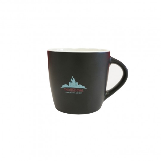 The Black Oval Coffee Mug