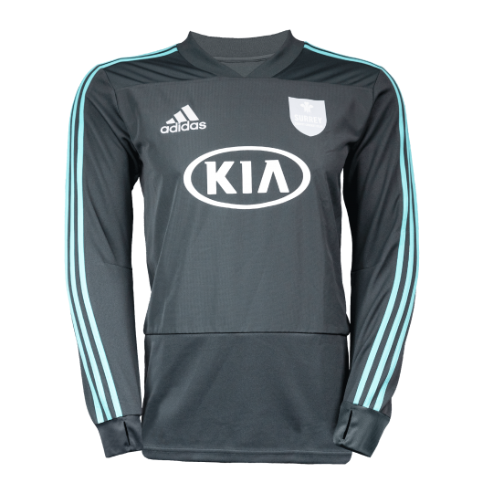 Surrey Adidas Replica Training Long Sleeve T-Shirt