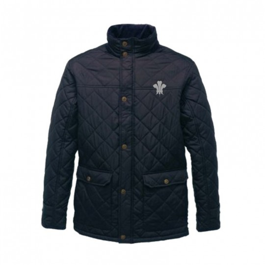 Surrey CCC 1845 Quilted Diamond Jacket - Mens