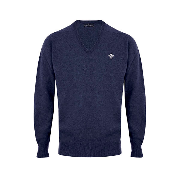 Surrey CCC 1845 Merino Wool Navy Sweater