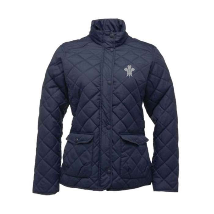 Surrey CCC 1845 Quilted Diamond Jacket - Ladies