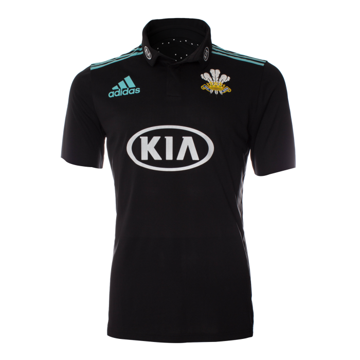 2018 Surrey Adidas One Day Short Sleeve Shirt
