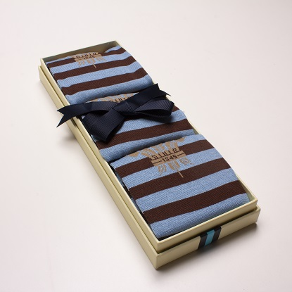 Surrey CCC 1845 Brown & Blue socks 3 Pack