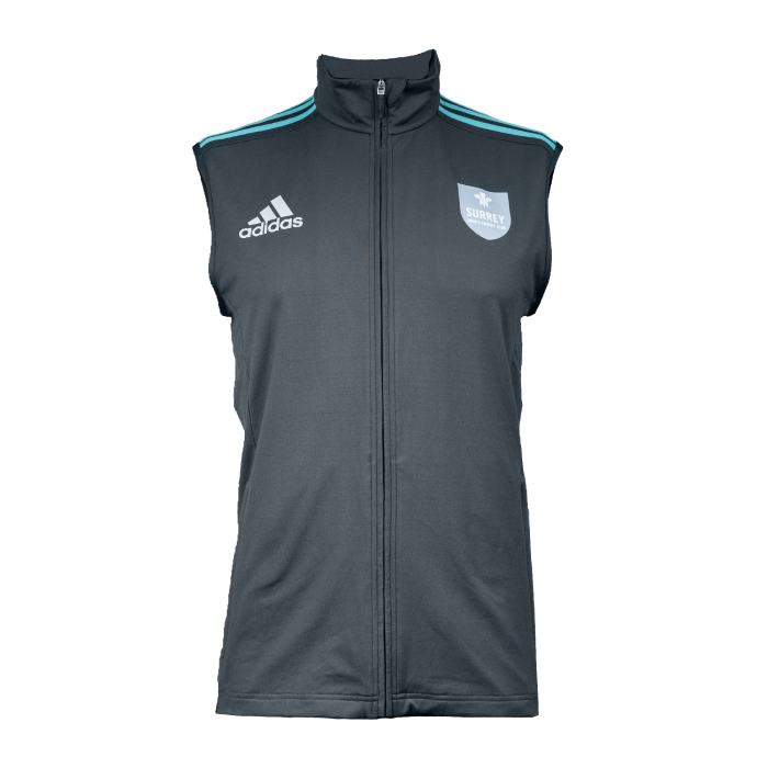Surrey Adidas Replica Fleece Gilet