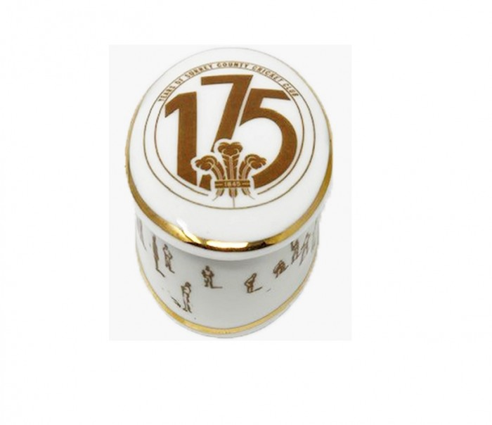 175th Anniversary Surrey CCC Trinket Box