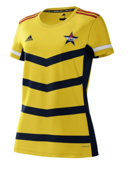 South East Stars Short Sleeve Playing Shirt Youth