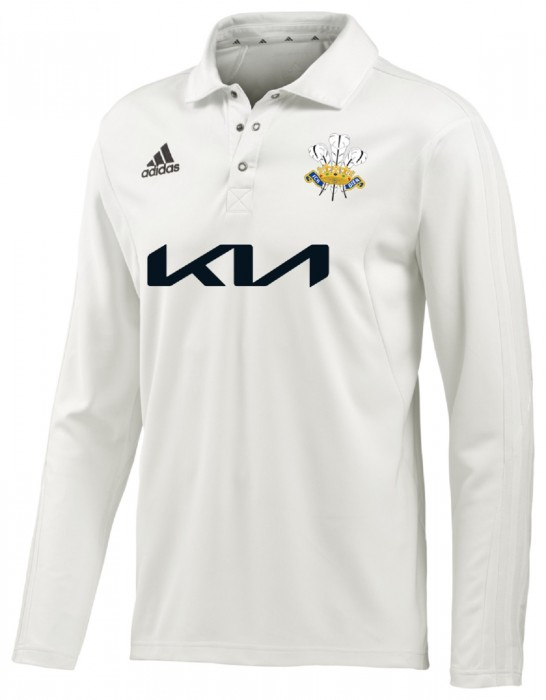 2021 Surrey Adidas County Shirt Long Sleeve