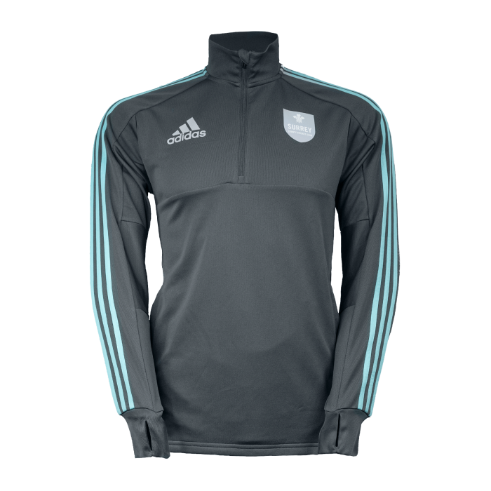 Surrey Adidas Replica 1/2 Zip Training Top